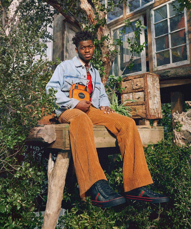 Lil Nas X Gucci