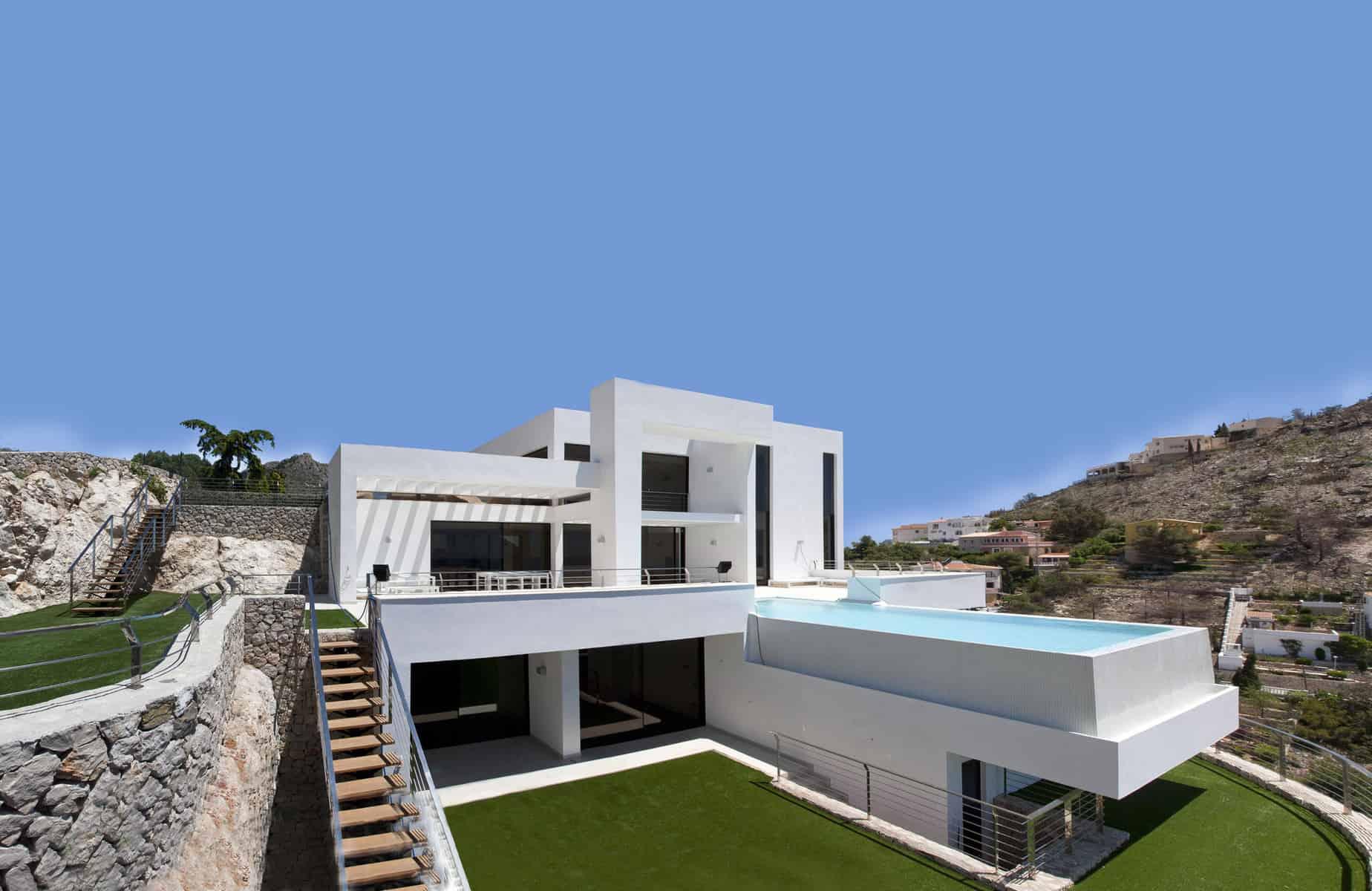 Mediterranean Pearl House by Carlos Gilardi 1
