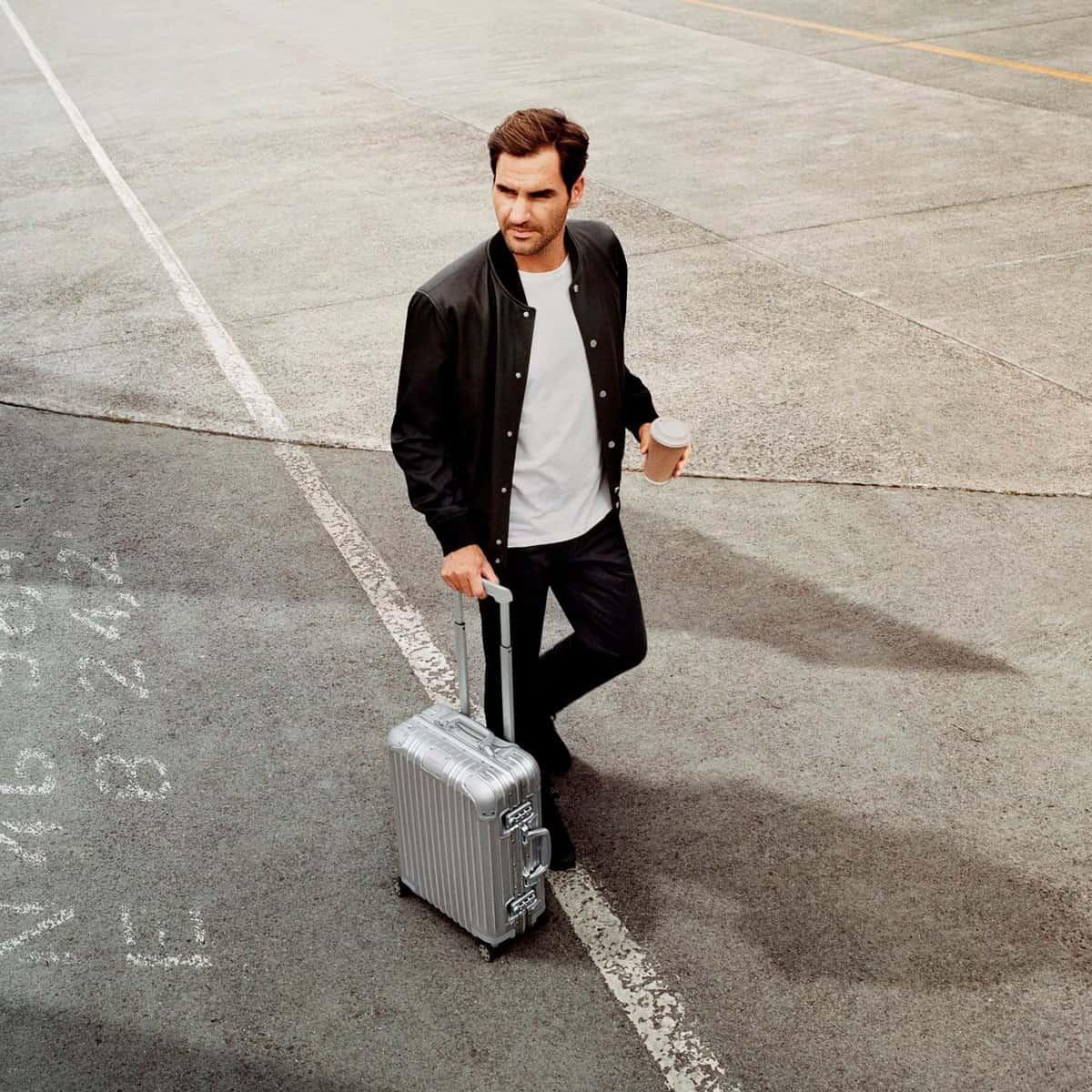 Roger Federer Rimowa