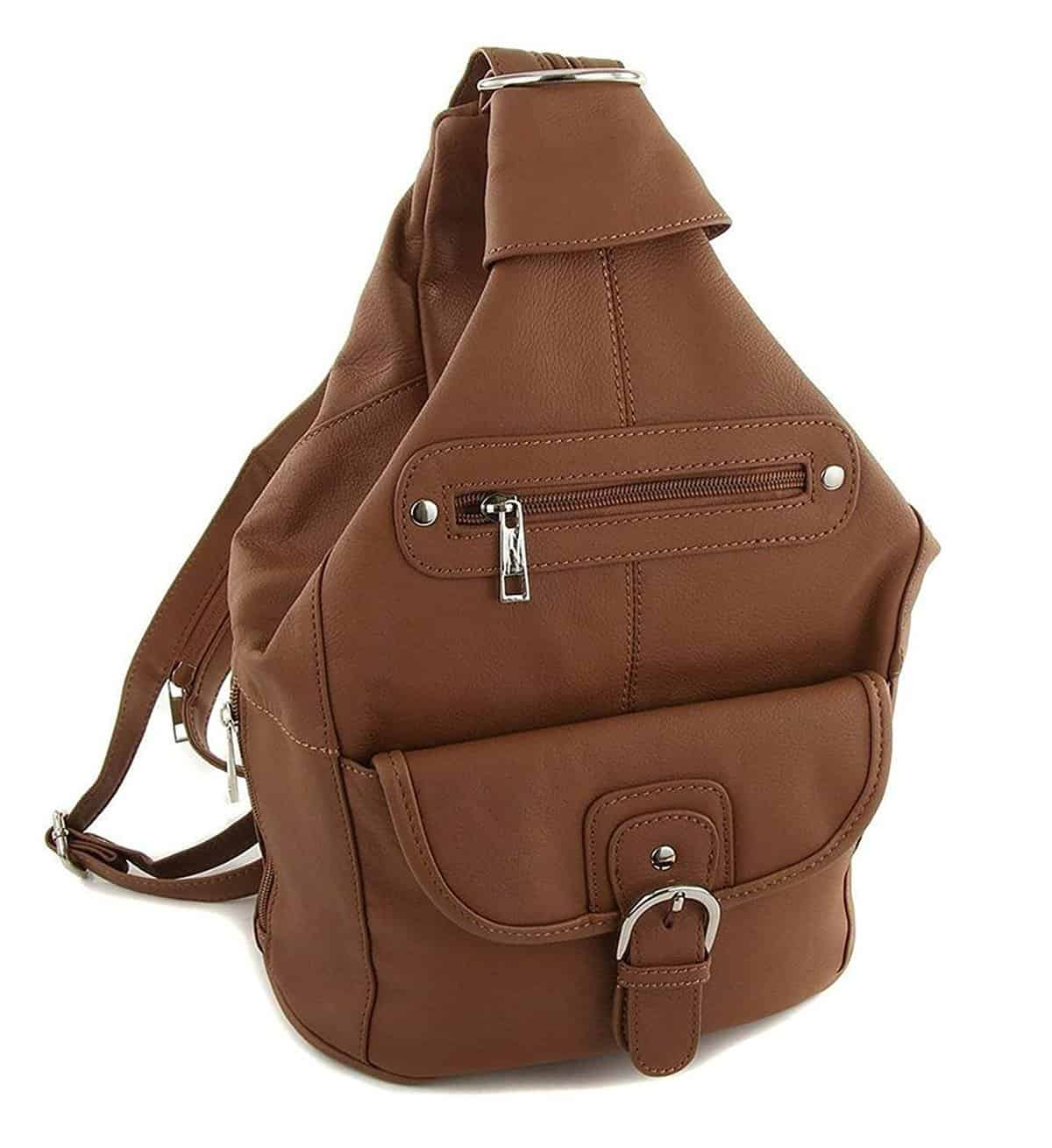 Roma Leathers Women's Leather Sling Bag
