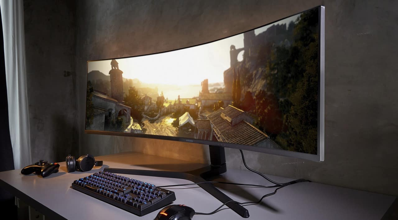 Samsung Wide Gaming Monitor