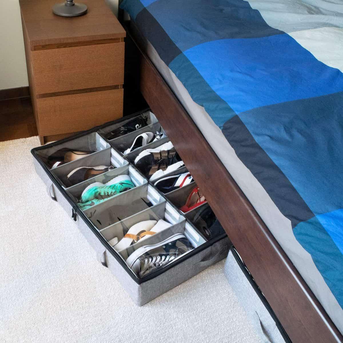 StorageLab Under-the-Bed Shoe-Storage Organizer