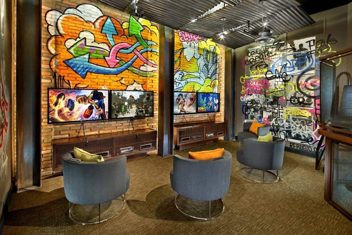 Street Art Gaming Room