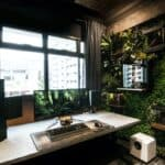 Vertical Garden Gaming Room