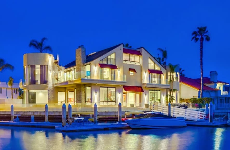 Waterfront Mansion in Coronado 1