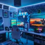 gaming room ambiance
