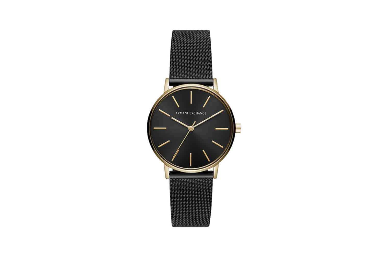 Armani-Exchange-Womens-Mesh-Bracelet-Strap-Watch