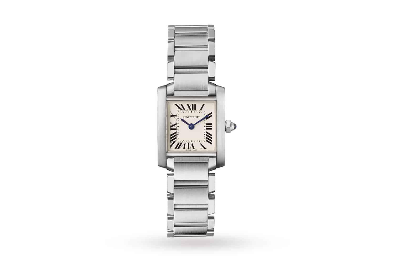 Cartier-Tank-Française-stainless-steel-watch