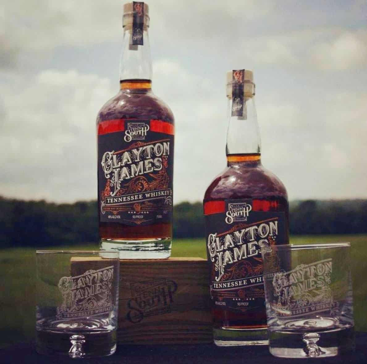 Clayton James Tennessee Whisky