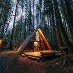 Dreamy A-Frame Cabin