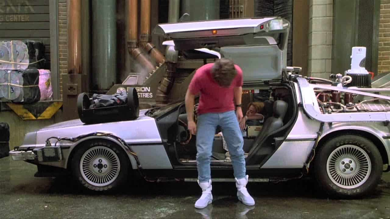Marty McFly Back to the Future Shoes