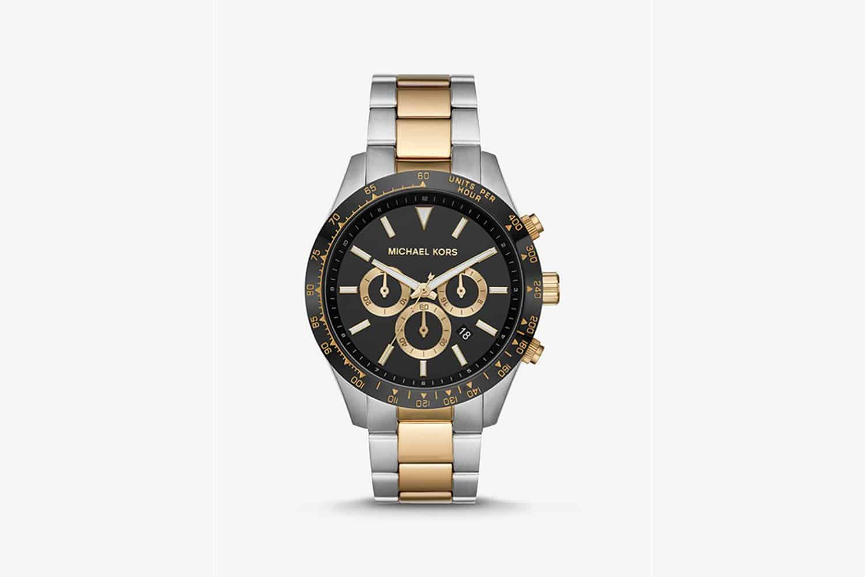 Michael-Kors-Oversized-two-tone-watch