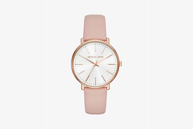 Michael-Kors-Pyper-Rose-Gold-Tone-Leather-Watch