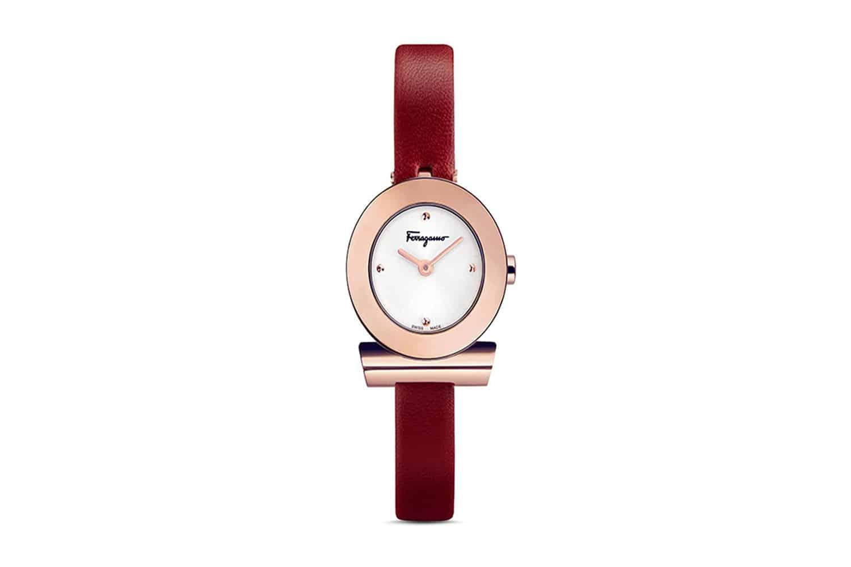 Salvatore-Ferragamo-Gancino-Bracelet-Watch,-22mm