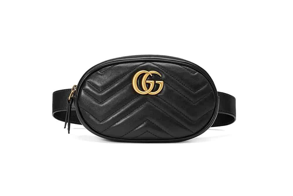 Gucci-Matelasse-Leather-Belt-Bag