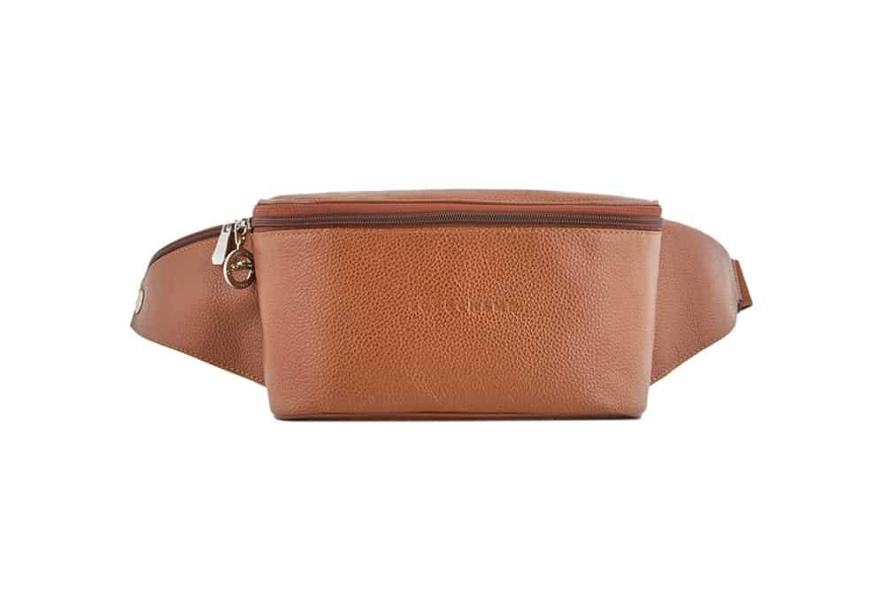 Longchamp-Le-Foulonne-Leather-Belt-Bag