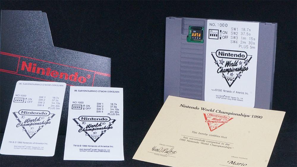 1990 Nintendo World Championships Gray and Gold Editions