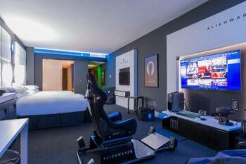 Alienware Gaming Room