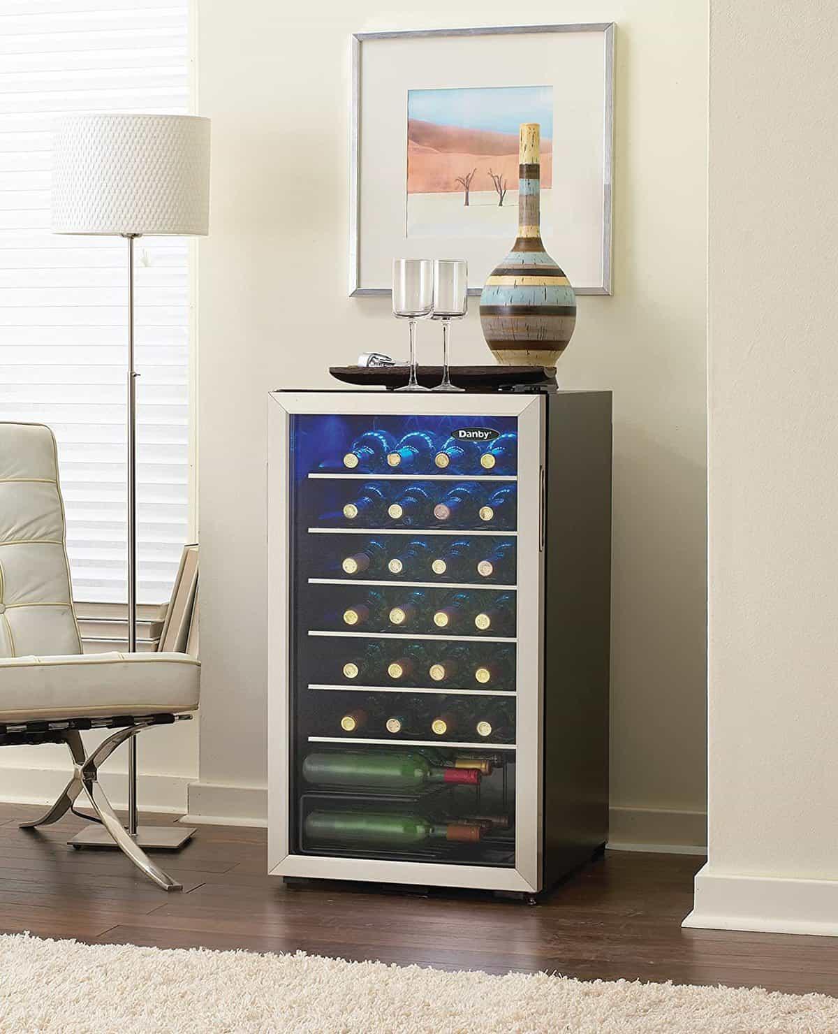 Danby 36 Bottle Single Zone Freestanding Wine Refrigerator