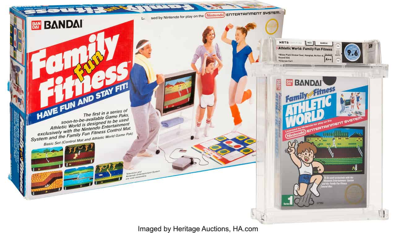 Family Fun Fitness Stadium Events with Dance Pad