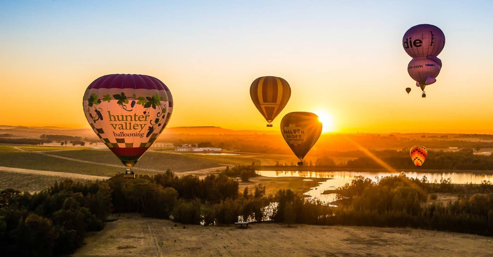 Hunter Valley Balloon Ride
