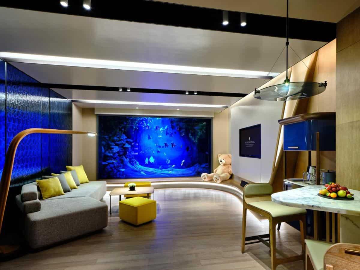 InterContinental Shanghai Wonderland Underwater Room