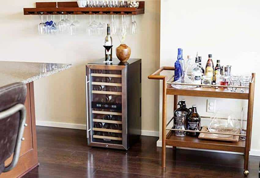 Koldfront 24-Bottle Dual Zone Freestanding Wine Refrigerator