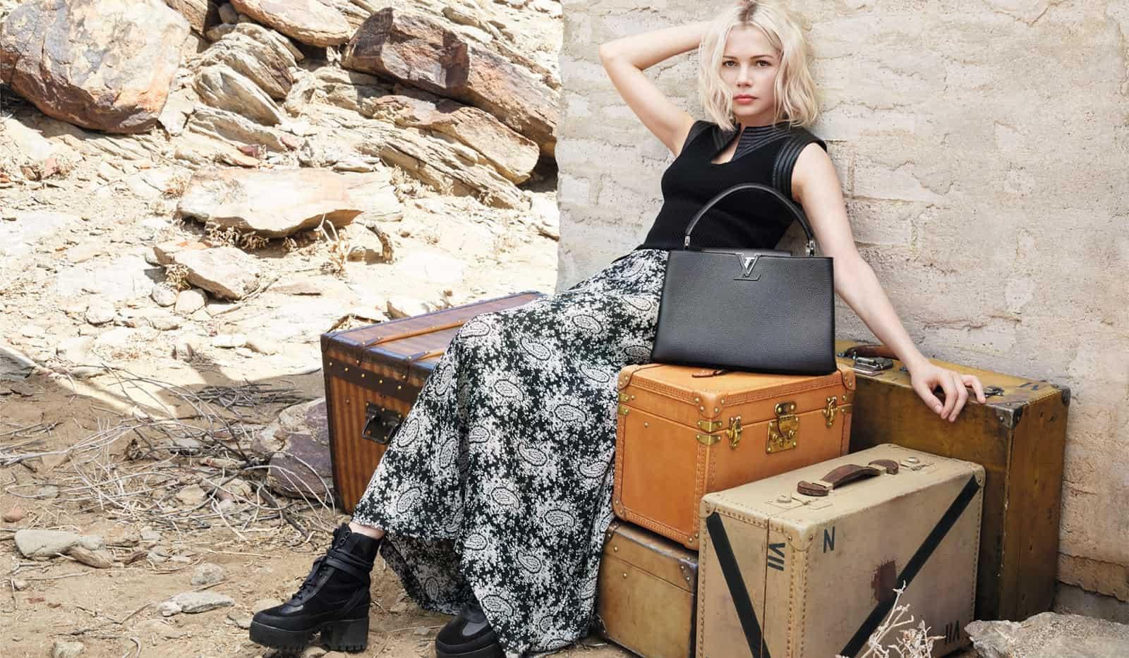 Louis Vuitton Spirit of Travel campaign