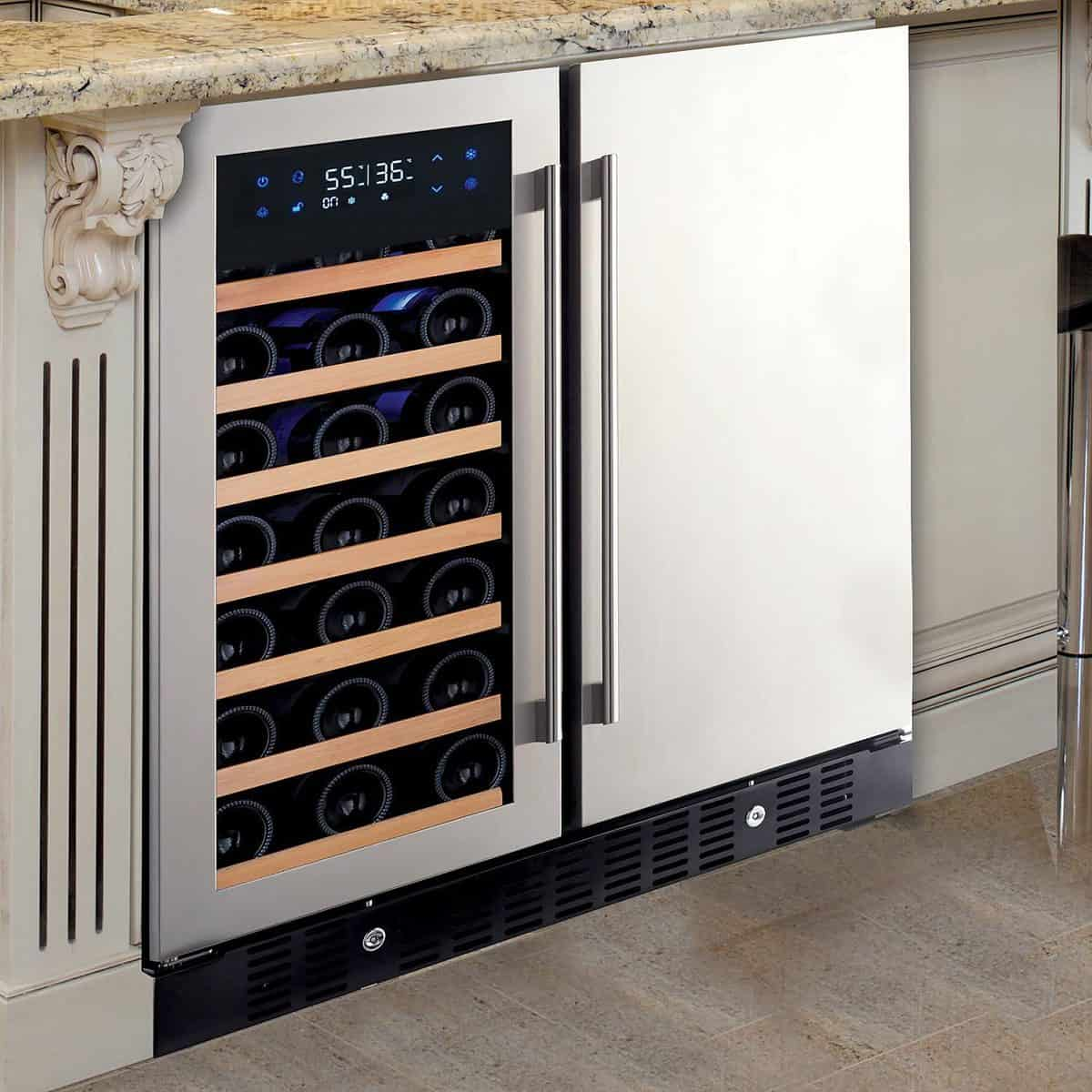 N'Finity Pro HDX Dual Zone Wine Fridge