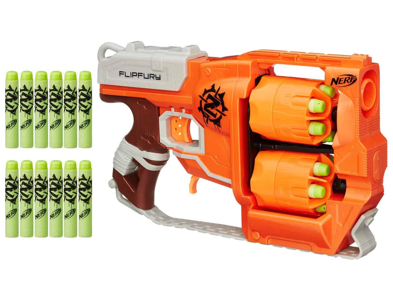 Nerf Zombie Flipfury Blaster