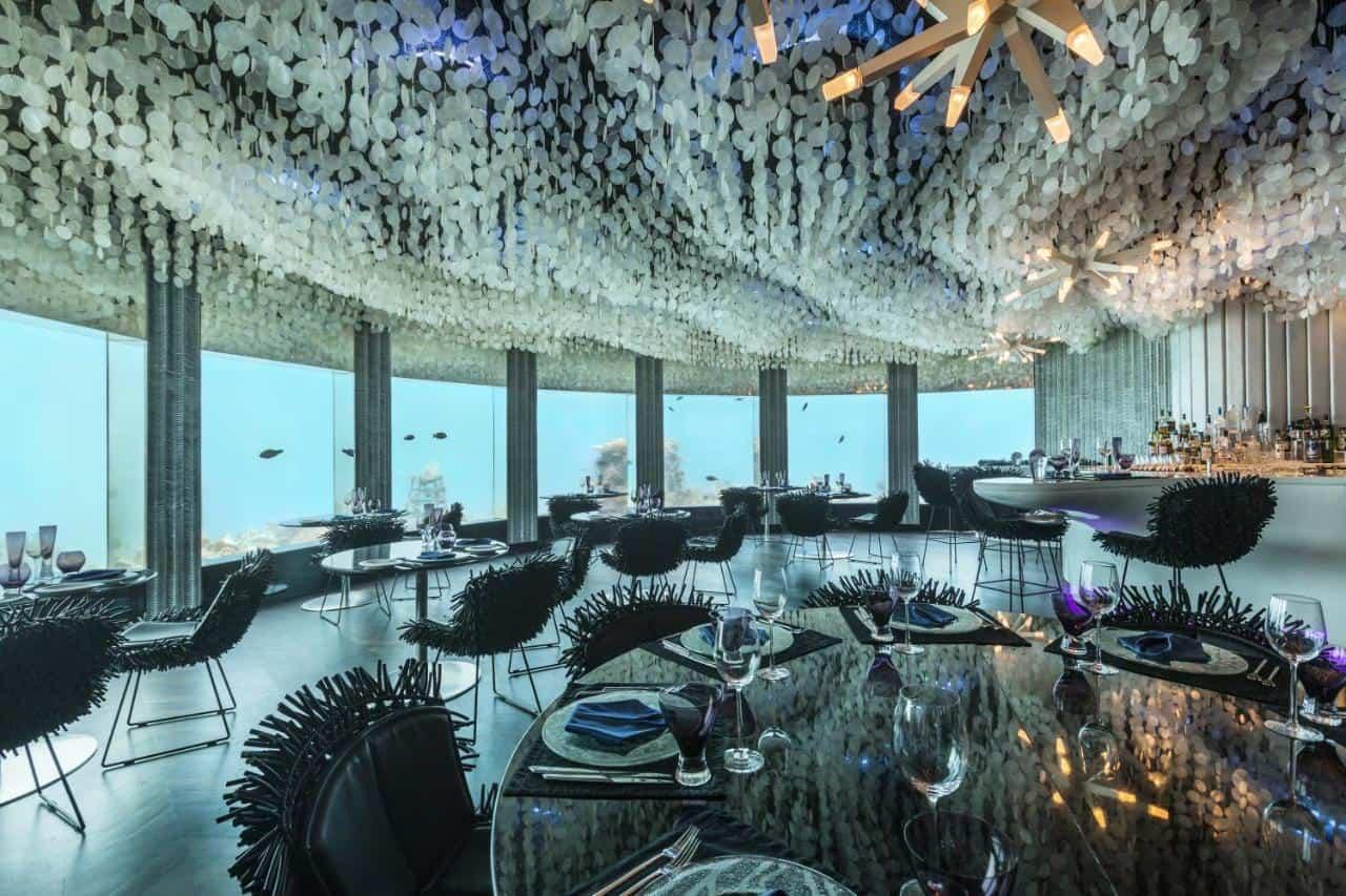 Subsix Niyama Maldives restaurant