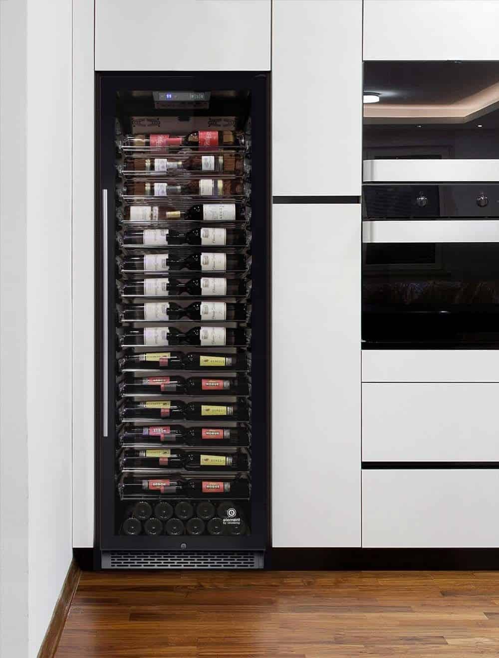 VinoTemp 141 Single Zone Freestanding Built-In Wine Cellar
