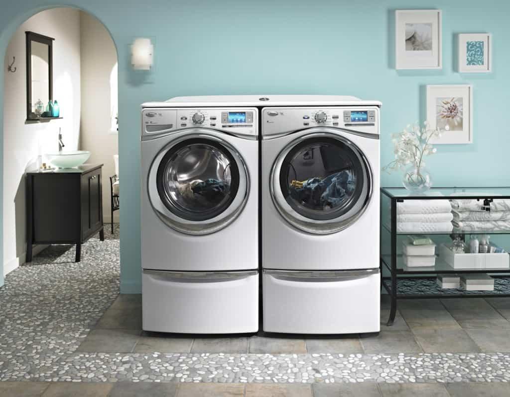 Whirlpool Duet Laundry Room