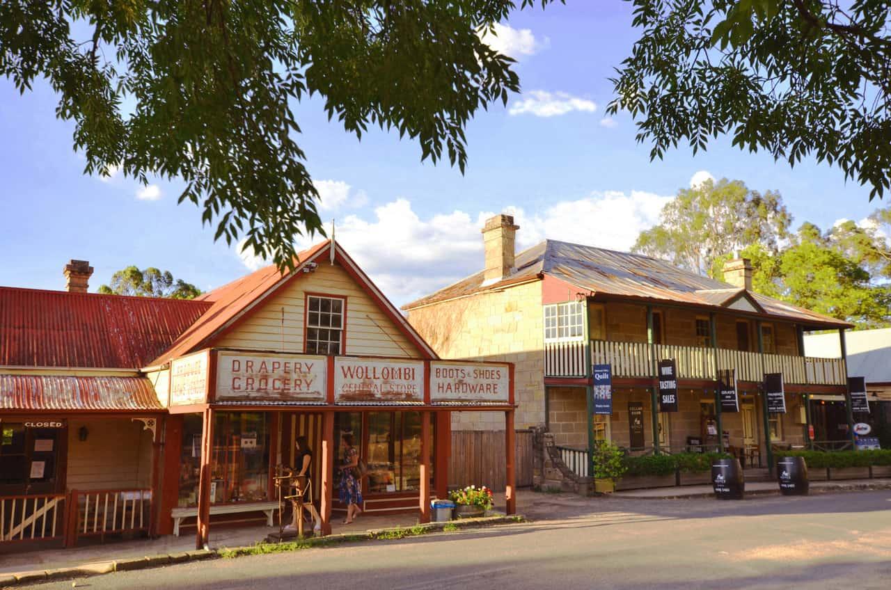 Wollombi Village