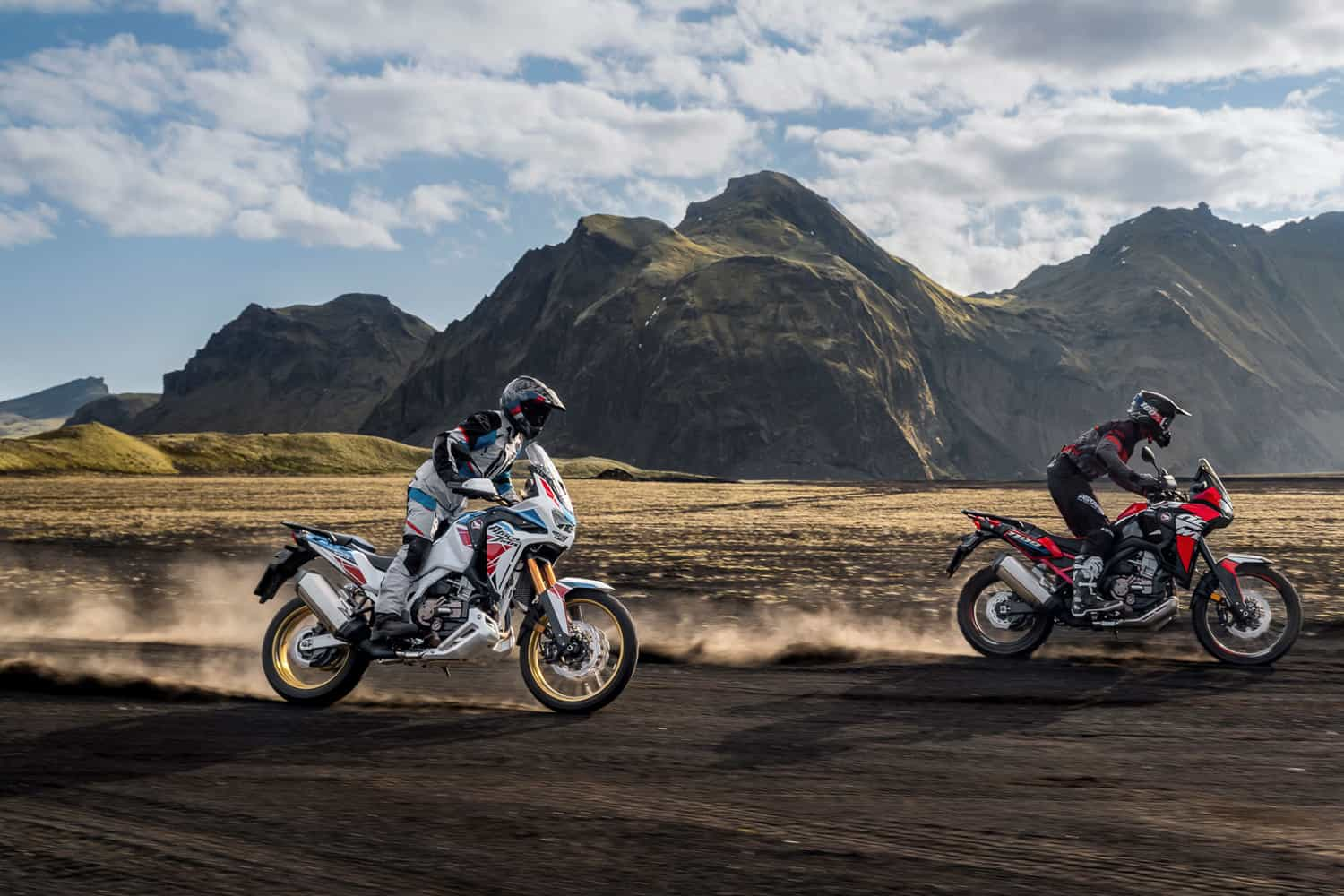 Honda's iconic Africa Twin and Africa Twin Adventure Sport rec
