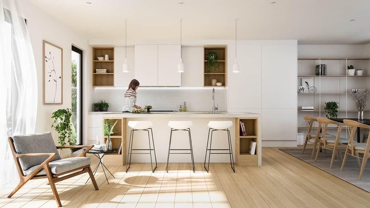 Dark Room Studio kitchen