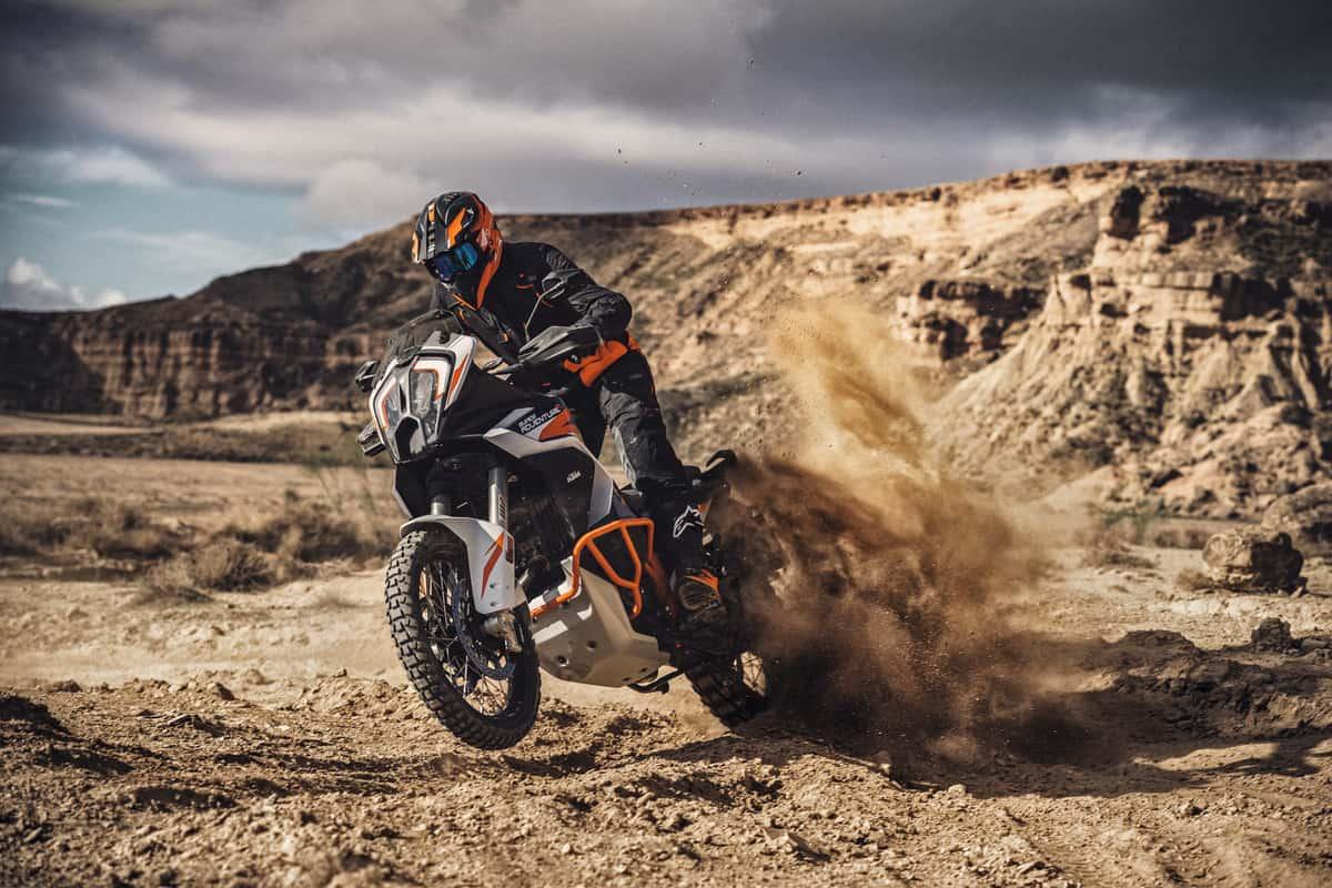 KTM 1290 Super Adventure R bike