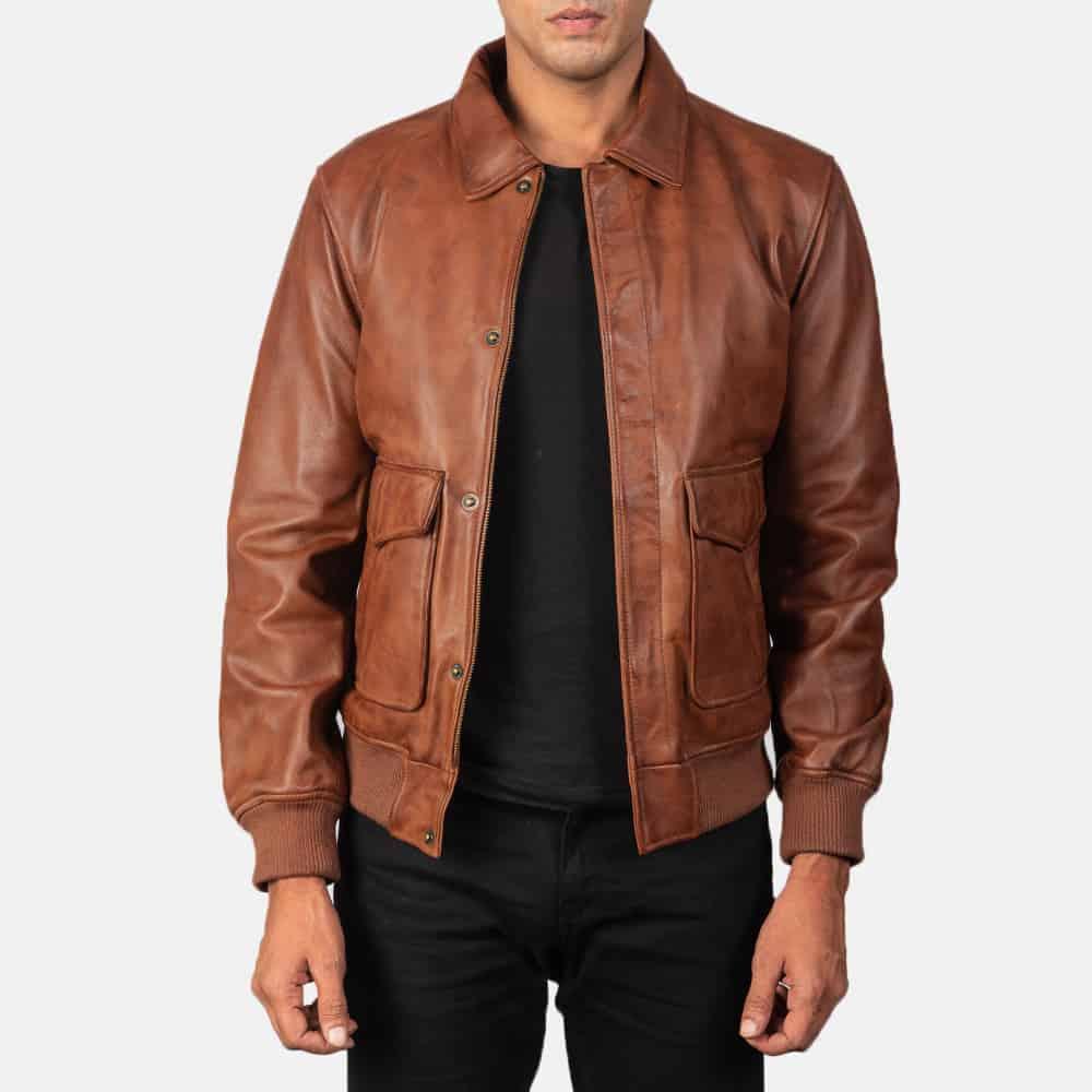 The Jacket Maker Coffner Brown
