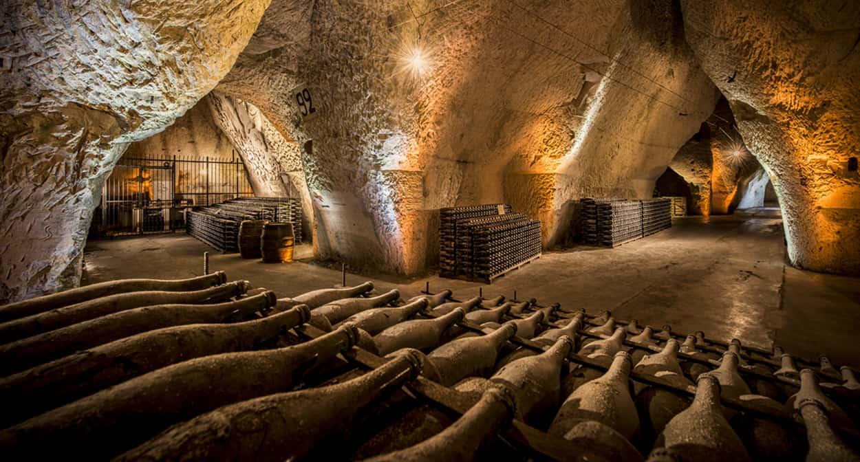 Veuve Clicquot champagne cellars