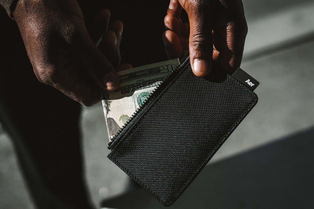 Aer Card Holder Wallet