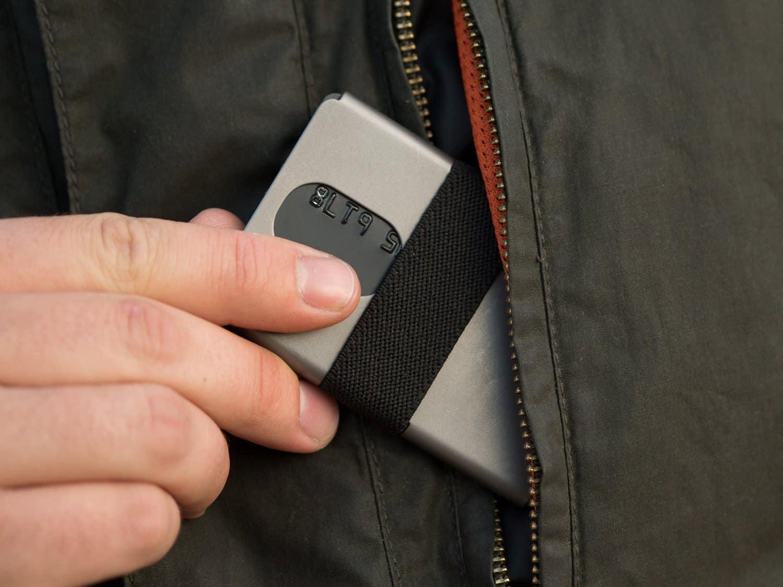 Machine Era Ti5 Titanium Slim Wallet