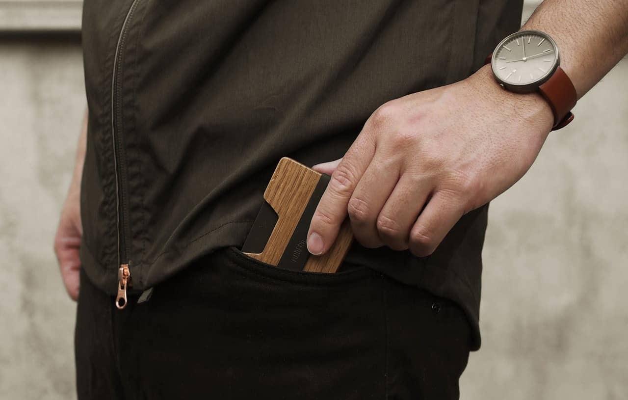 Madera Poquito Slim Wood Wallet