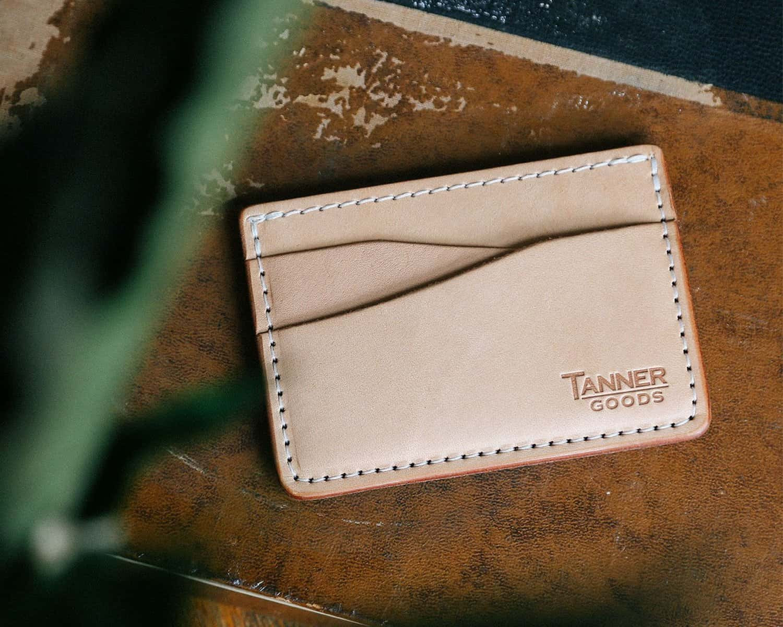 Tanner Goods Journeyman Card Wallet