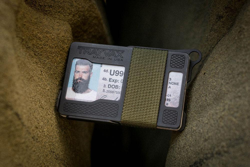 Trayvax Kryptek Armored Summit Card Holder Wallet